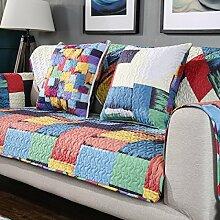 China Palaeowind Minimalist Wohnzimmer Sofakissen Slip Baumwolle Gruppe,Color-90*90