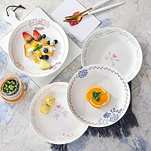 China Porzellanteller 4 Teile/Satz Nordischen Stil