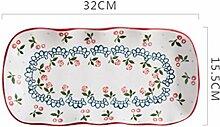 China Porzellanteller Chinesisches Porzellan
