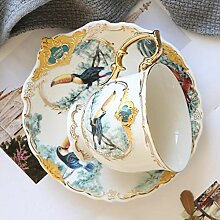 China Porzellanteller Regenwald Keramik Geschirr