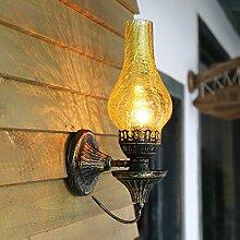 China Retro Vintage Antik Wandleuchte kreative Bar Balkon Gang Schlafzimmer Bett Licht 170 * 130 * 400 mm, B Outdoor Kids Wohnzimmer Schlafzimmer Hochzeit Geburtstag Geschenk