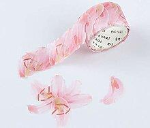 CHINAJIAODAI 200 Stück/Roll Petals Washi Tape