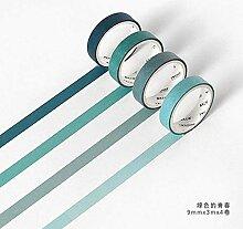 CHINAJIAODAI 9mmX3m 4pcs / set Kreative verlieben