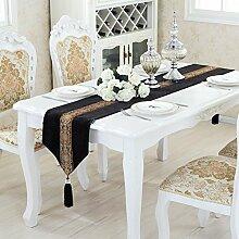 Chinese modern table flagge/klassischer esstisch,couchtisch tischläufer/bett-runner-D 33x260cm(13x102inch)