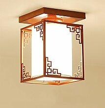 Chinese Red Wohnzimmer Deckenleuchte Lampe Beleuchtung 9w