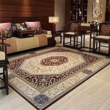 Chinese Retrostil Bereich Teppich für Wohnzimmer
