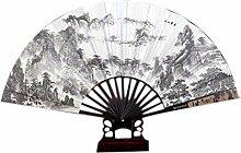 Chinese Style Folding Fan Sommer Fan Männer Fan