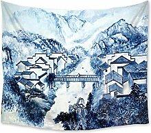 Chinese Style Village Landschaftsmalerei