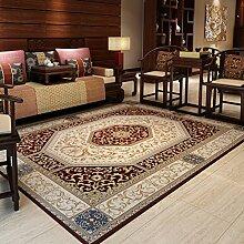 Chinese vintage teppich/pauschale für wohn- und teetisch/schlafzimmer decke für schlafzimmer-braun 160x230cm(63x91inch)