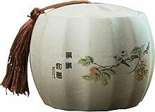 Chinesisch Tee-dose,Handgemacht Keramikplatten