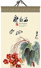 Chinesische Adventskalender 2021 Wandkalender 2021