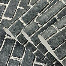Chinesische alte Ziegel Ziegel Ziegel und grauen Tapete Muster Simulation von Backstein Backstein Backstein klassische Kultur Steinmauer Wallpaper Wallpaper, Dunkelgrau