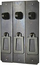 Chinesische antike Griff/Möbel/Kupfer Metallbeschläge/Schrank Schranktüren mit der Spalte-F