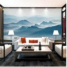 Chinesische Art 3D-Tapete, Wanddruck, Fototapete