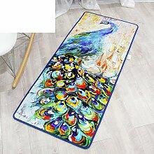 Chinesische Art,Moderne,Bar,Bodenmatte/Fußmatten/Indoor-matten/Schlafzimmer-küche-matten/Wasserabsorbierenden Matten-A 40x120cm(16x47inch)