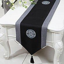 Chinesische Art,Moderne,Simple,Tischläufer/Klassischen,Retro,Klassischen,Tee Tischdecke-E 33x300cm(13x118inch)