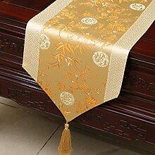 Chinesische Art,Pastorale Tischläufer/Bett-runner/Kabinettflagge/Europäische Tischläufer-R 33x230cm(13x91inch)
