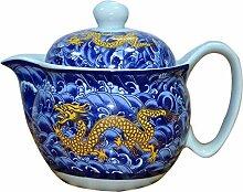 Chinesische/japanische Art-Porzellan-Teekanne