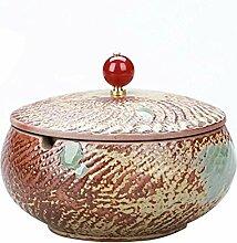 Chinesische Keramik Aschenbecher mit Einer