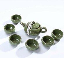 Chinesische Keramik Kung Fu Teeset Eisrisch