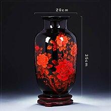 Chinesische Keramik vase Mit ständer Antik