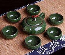 Chinesische Kungfu Tee Sets Eis Porzellan Teekanne