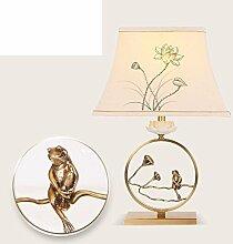 Chinesische Lampen/Moderne,Living Room,Kupfer-farbigen,Bibliothek-lights/Die Villa,Hotels,American Village,Schlafzimmer Bett Lampe