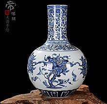 Chinesische Porzellan Vase Blume Home Office Decor