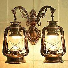 Chinesische Retro Double Wall Lantern Restaurant