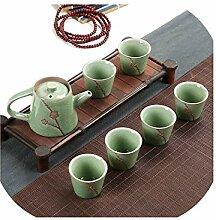 Chinesische Teetasse aus Porzellan mit