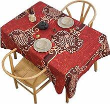 Chinesische Tischdecke der Tischdecke mischte