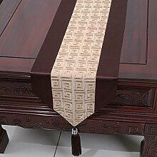 Chinesische Tischl?ufer/Tischfahne Couchtisch/Bett-banner/Besticktem Stoff Tischdecke-A 33x150cm(13x59inch)