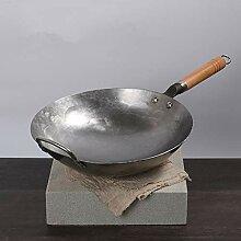 Chinesische Traditionelle Eisen Wok Handgemachte