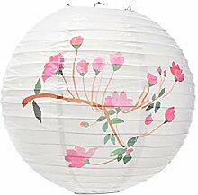 Chinesische traditionelle Papierlaterne gemalt