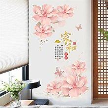 Chinesische Wind Blume Wohnzimmer Veranda Tapete