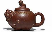 Chinesische Yixing Zisha Teekannen Große Teekanne