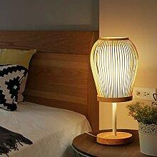Chinesische Zen-Wohnzimmerlampe, minimalistische