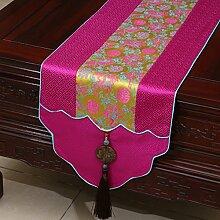 Chinesischen Stil Pastorale Tischläufer/Tischdecke/Tee Tischdecke/Bett-runner/Tischläufer-H 33x180cm(13x71inch)
