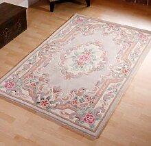 Chinesischer Teppich, Wolle, Handgefertigt,