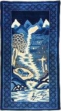 Chinesischer Vintage Pao-Tao Teppich