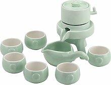 Chinesisches Tee-Set High-Grade White Porzellan 8