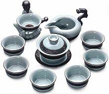 Chinesisches Teeset Hochwertiges Weißes Porzellan