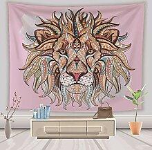 Chitty Lion Head Tapestry 3D, Das Dekorative