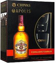 CHIVAS REGAL 12 SCOTCH WHISKY WHISKEY TUMBLER GLAS GLÄSER