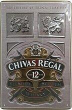 Chivas Regal Whisky Blechschild, Original Brand