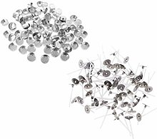 chiwanji 200 Stü Aluminium Teelichtbehälter &