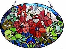 Chloe Lighting Chamber Tiffany-Glas Rosen,