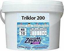 Chlortabletten für Schwimmbecken - 10 Kg
