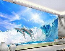 Chlwx 350cmX240cm (137.8inX94.284in) Wandbild Tapete 3D Wallpaper Moderne Für Wohnzimmer Wandbilder Home Decoration