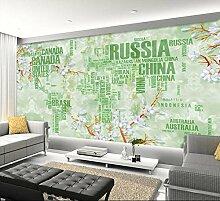 Chlwx 3D Wallpaper Murals Benutzerdefinierte